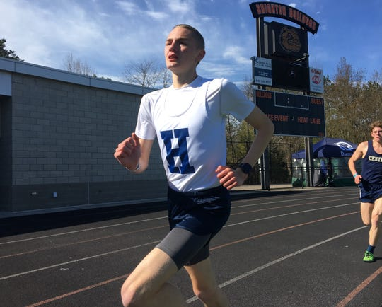 Riley Hough of Hartland is a two-time cross country all-stater who has two seasons of track and field remaining.