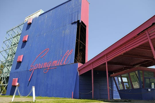 """The Springmill Twin Drive-In Theater will open this weekend with double features on two screens.Drive-in theaters were exempted under the stay-at-home order extension signed April 30. Featured movies this weekend are """"Onward,"""" """"Call Of The Wild,"""" """"The Hunt,"""" and """"The Invisible Man."""""""