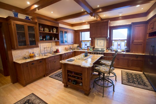 The kitchen is shown in  2016 at the home of Michael and Cynthia Hosale and Diane Dziengel in Milwaukee.