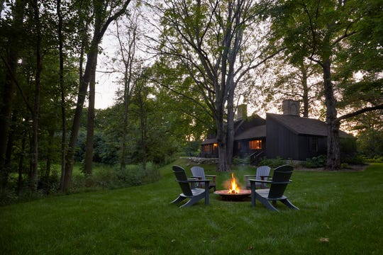 Red Fox Cabin, part of the American Club Resort in Kohler, sits along the Sheboygan River.