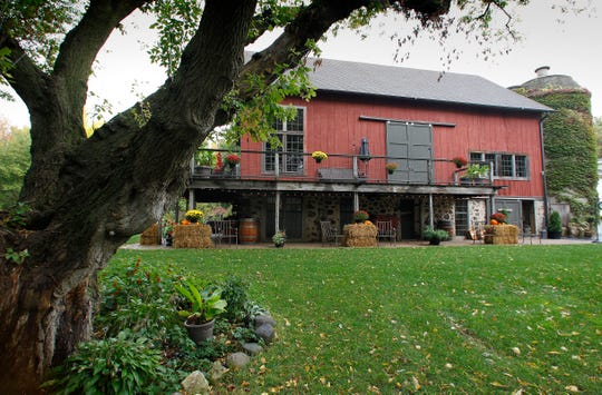 Brenda Rosin-Schaff and her husband transformed the rustic out buildings on their New Berlin property into amazing living spaces. What had been a dilapidated old barn has been turned into an entertainment area with several different lofts.
