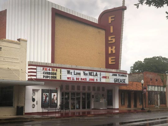 The historic Fiske Theatre in Oak Grove, Louisiana, will reopen June 5 with a showing of 'Grease.'