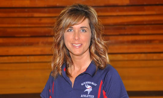 Blue River Valley announced Sonja Thornburgh as its new head volleyball coach on May 12, 2020. A 1996 graduate from Blue River, Thornburgh has been with the program since 2014 as a junior high coach and varsity assistant.
