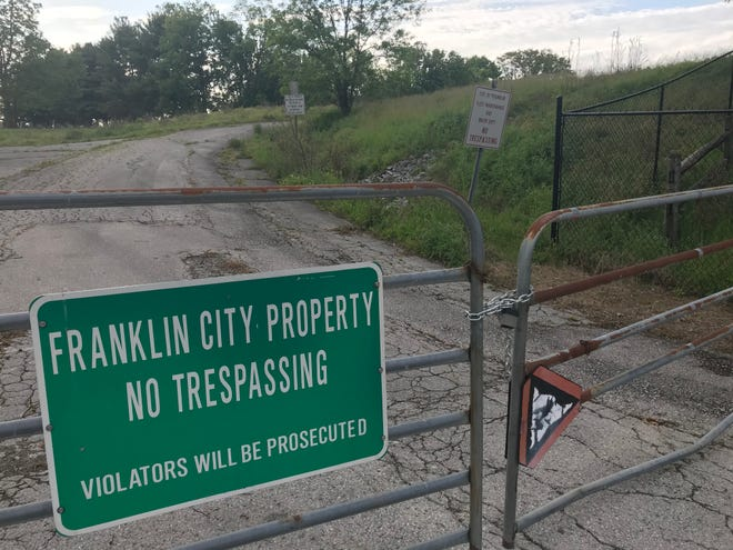"""""""The Hill"""" property in Franklin is located at 5th Avenue adjacent to Sonic. Three area nonprofits and Franklin Housing Authority have partnered to propose an affordable/workforce housing development for the 4-acre property."""