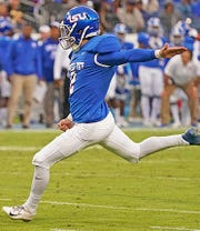 Sophomore kicker Antonio Zita announced on his Twitter account Thursday he is transferring from Tennessee State.