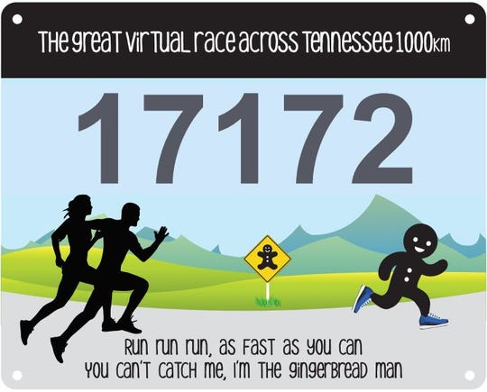 "More than 19,000 people across the globe have signed up for the Great Virtual Race Across Tennessee 1,000K. The event, created by longtime Tennessean Gary ""Lazarus Lake"" Cantrell, gives participants three months to run or walk more than 634 miles."