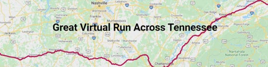 The Great Virtual Race Across Tennessee has inspired 19,000 people from across the globe to run more than 634 miles in three months this summer.