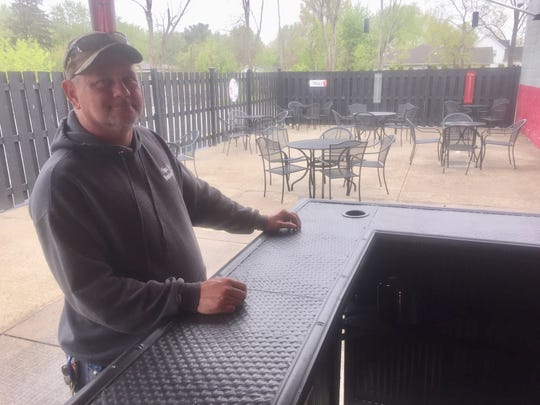 Banding together in support of one another, Papa Joe's food will be able to be eaten on the large outdoor patio at The Duggie Sportsbar. Ohio restaurants were scheduled to begin outdoor service on May 15.