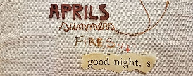 """Aprils, Summers, Fires and Good-nights,"" is an exhibit and lecture by WNMU and Town of Silver City Artist-in-Residence João Galera"