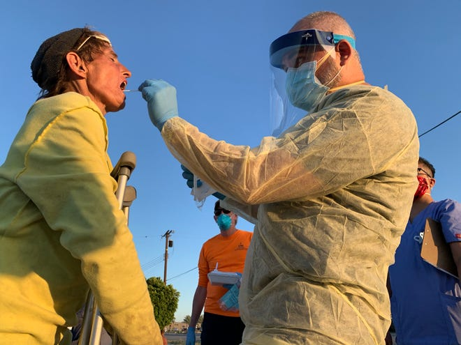 The Coachella Valley Volunteers in Medicine is working to bring COVID-19 testing to the streets of the valley.
