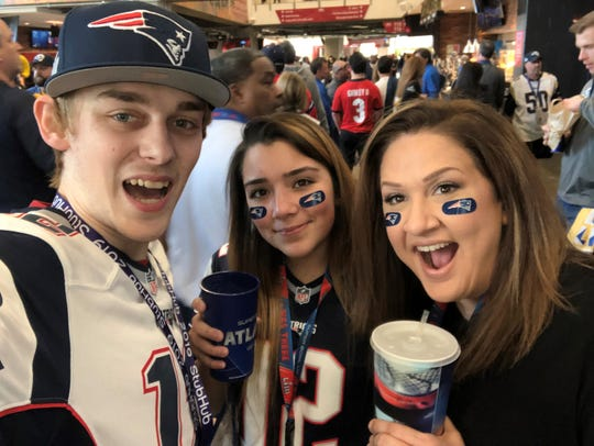 Pensacola YouTube star Logan Thirtyacre attends Super Bowl 53, Tom Brady's last Super Bowl win as a Patriot, with his friends in Atlanta.