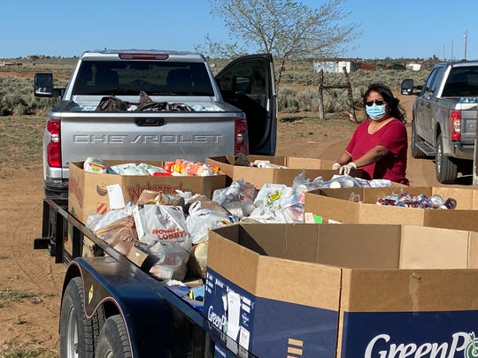 Montana Indian Ministries sent a convoy of vehicles packed with food and water early May to deliver to 160 Navajo Nation families  in New Mexico who had been unable to access aid in Window Rock.