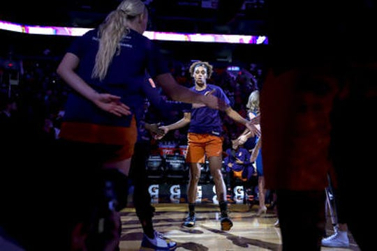 Phoenix Mercury forward Brianna Turner made the WNBA All-Rookie team in 2019. She is among three second-year players returning in 2020.