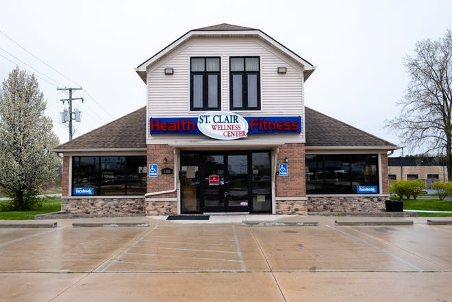 The St. Clair Wellness Center closed officially May 1 when the stay at home order making gyms stay closed was extended. Prior to the pandemic, the gym had 300 active members.
