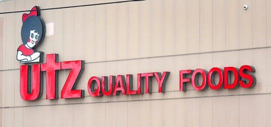 Utz Quality Food's High Street facility in Hanover Thursday, May 14, 2020. Bill Kalina photo