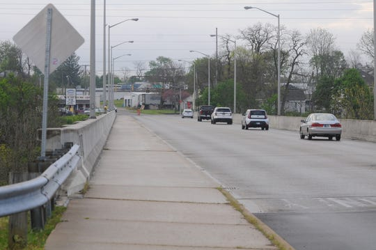 A county inspection will close the South G Street bridge to traffic Monday, May 18, 2020.