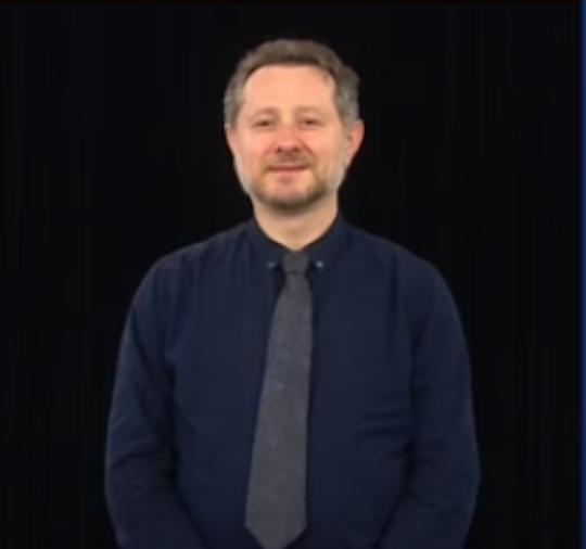 Arkady Belozovsky, a Certified Deaf Interpreter, interprets New York Gov. Andrew Cuomo's daily coronavirus briefings.