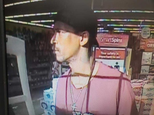 This man is a suspect of a theft that was reported on May 6 at the Family Dollar in the 3700 block of West 70th.