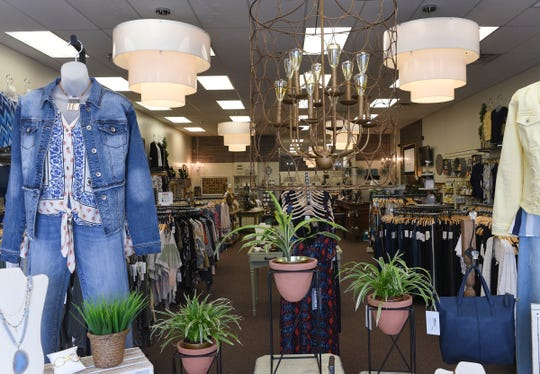 Evelie Blue Boutique is pictured Thursday, May 14, 2020, in St. Cloud. Owner Kim LeBlanc said her store has plenty of space to practice social distancing.