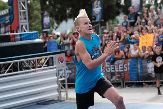 St. George teen Kai Beckstrand, 13, will be a competitor in an American Ninja Warrior Junior episode airing Friday, May 15 at 4 p.m. on UniversalKids.