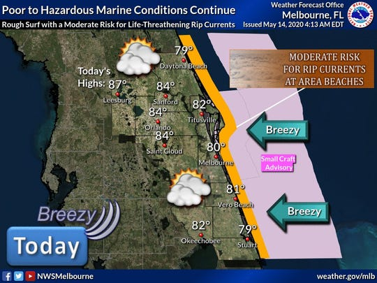 Poor boating conditions expected as tropics become active.