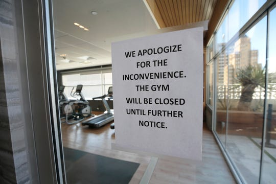 Some amenities at hotels like gyms remain closed to help prevent the spread of coronavirus.