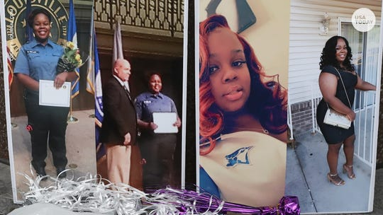 Breonna Taylor, a 26-year-old EMT, was shot to death in her apartment by Louisville Metro Police.