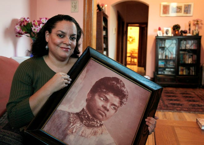 Michelle Duster, great-granddaughter of civil rights pioneer Ida B. Wells who led a crusade against lynching during the early 20th century, is penning a biography of her famous ancestor.