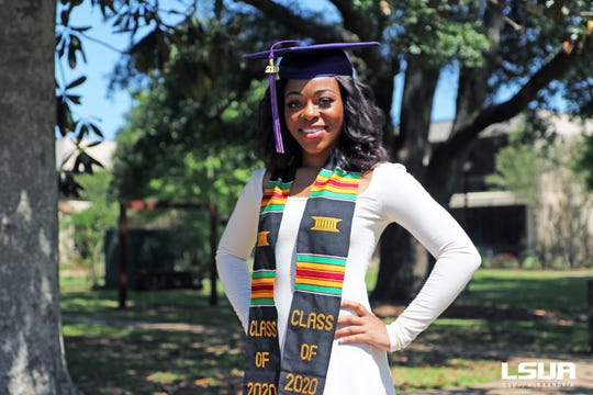 Sydney Victorian, a Bolton High School graduate and Spring 2020 graduate of LSUA, begin her career in social work with the CENLA Homeless Coalition.