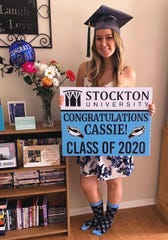 Cassie Doughty is a member of Stockton University's Class of 2020.