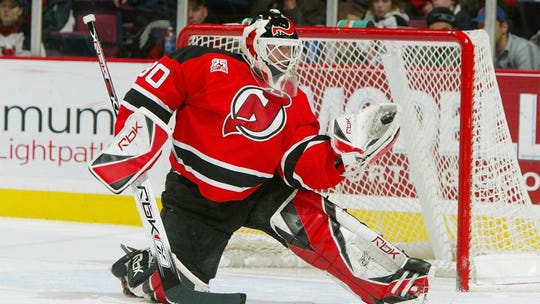 NHL Hall of fame goaltender Martin Brodeur, who played 20 years for the NJ Devils and one year for the St. Louis Blues.