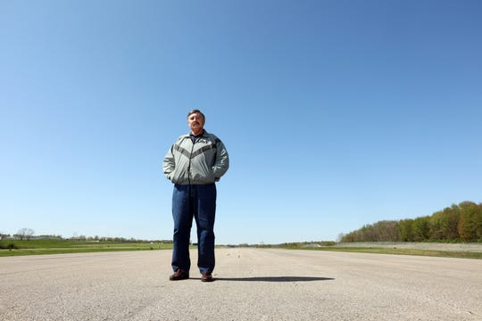 """Bethel Toler is the administrator of the Richard M. Downing Airport in Coshocton. """"My uncle flew in World War II,"""" Toler said. """" He would take me to the airport when I was young, and I fell in love with the idea of flying."""" Toler got his pilot's license in 1979."""