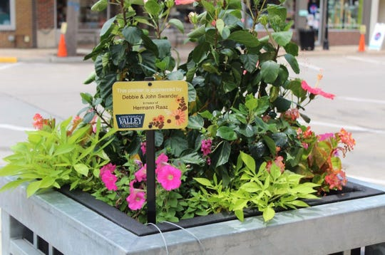 Adopt a planter around the Historic Valley Junction business district.