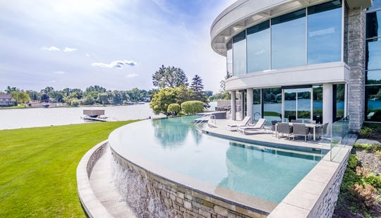 The home of Detroit Lions quarterback Matthew Stafford at 1867 Long Pointe Drive in Bloomfield Twp. is on sale for $6.5 million. The five-bedroom, seven-bathroom lakefront home features 12,295 square feet, including 7,720 above ground.