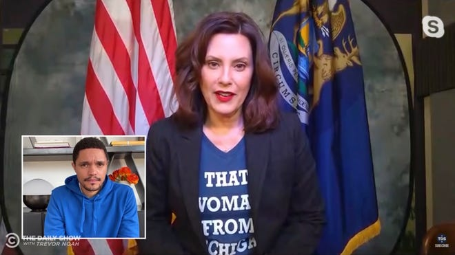 Through Praise And Criticism National Spotlight Fixed On Whitmer