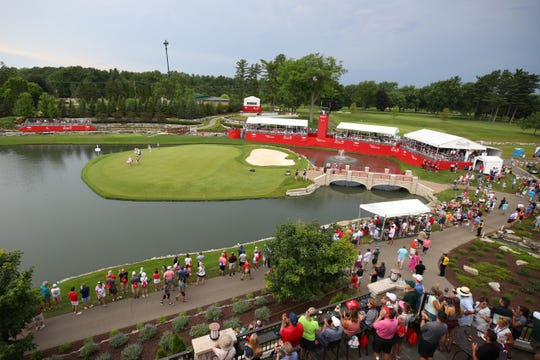 This would have been the second year of the Dow Great Lakes Bay Invitational in Midland.