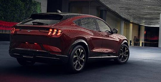Ford is expanding into all-electric vehicles with the Mustang Mach-E SUV.