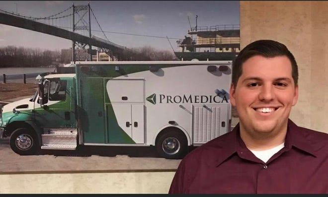 Woodmore graduate Dan Munoz is an ambulance driver.