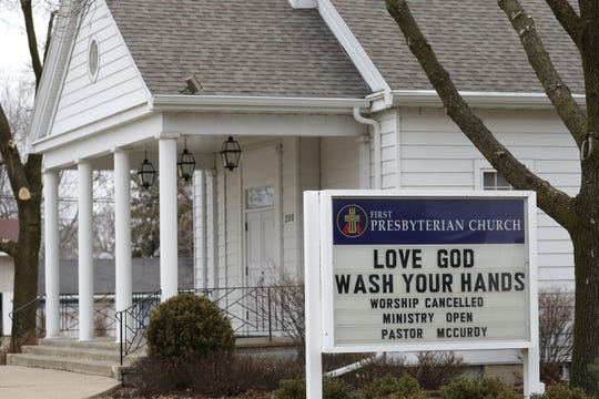 A March 26 message to the community from the First Presbyterian Church in Weyauwega.