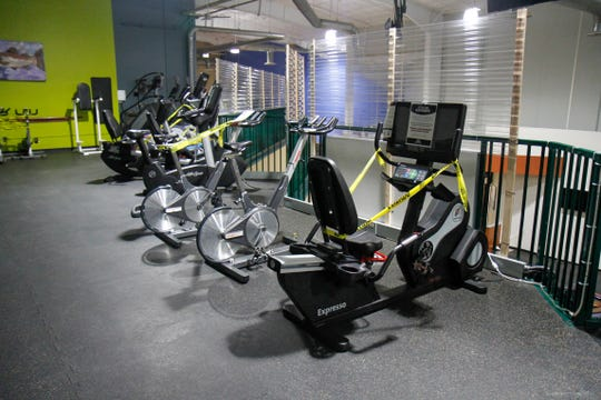 Under phase two, gyms can operate at 75% capacity.