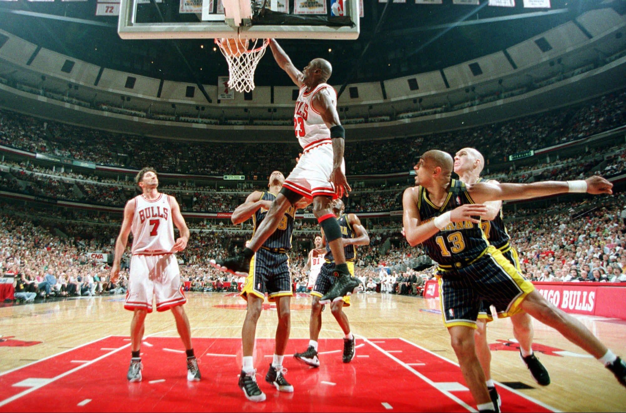 Looking back at 1998 Bulls vs. Pacers