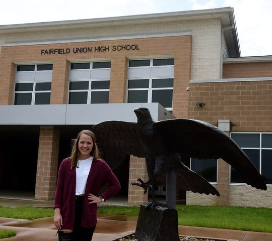 Reagan Conrad is the outstanding senior for the Fairfield Union High School graduating class of 2020.