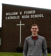 Bryson Vogel is the outstanding senior for the Fisher Catholic High School graduating class of 2020.