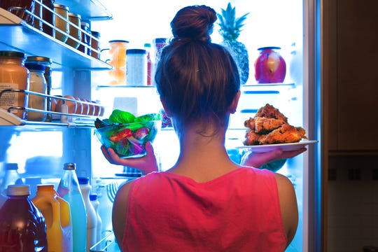 Opening the fridge and not knowing what to eat can be the first step toward choosing foods that don't provide optimal nutrition.