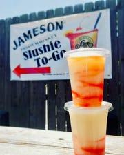 Jameson Slushies at Slider Inn.