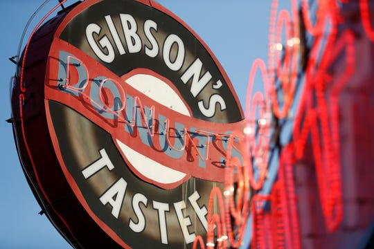 Gibson's Donuts reopens Friday, May 15, 2020 after being closed for two months during the economic shutdown of the city caused by the coronavirus pandemic.