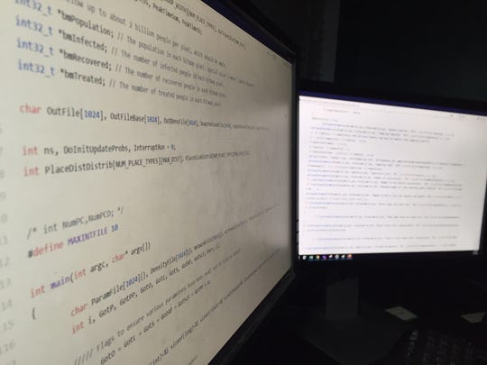 The Imperial College London's model, which is being used to forecast COVID-19 cases in Great Britain and the United States, consists of thousands of lines of code in multiple files.