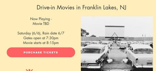 Boxcar is bringing a drive-in movie to Franklin Lakes in June.