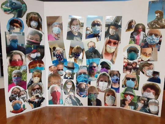 Dale Larsen's coronavirus masks project.