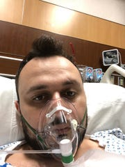 Dr. Anar Yukhayev, pictured on March 24, was hospitalized at Long Island Jewish Medical Center for COVID-19. He agreed to join a clinical trial of Kevzara, an immune suppressant.